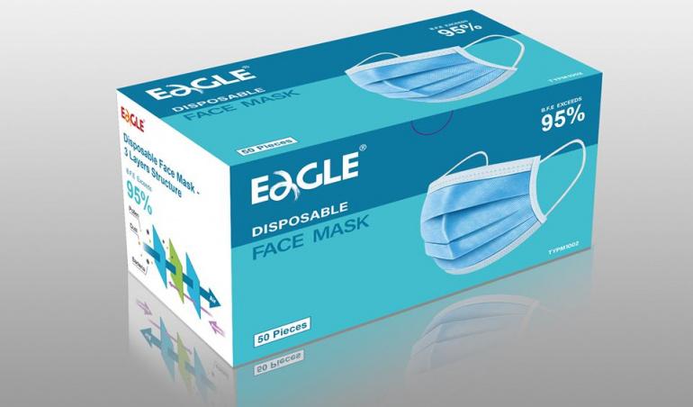 香港藥房格-口罩格價EAGLE MASK